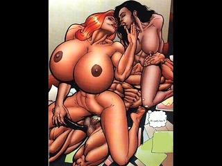 Big Tit Huge Breast Artwork
