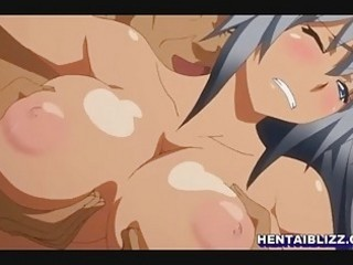 Cute hentai hot brutally fucked by big ghetto man in the locker room