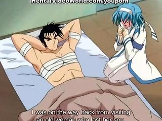 Naughty anime girls riding huge cocks