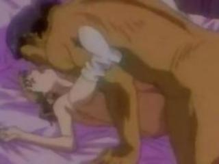 A hentai woman masterbating