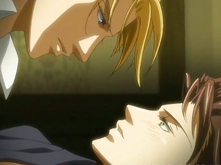 Anime gay having anal sex action with his man