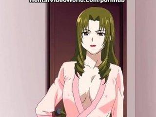 Sexy anime girl in hentai sex scene